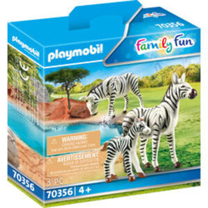 PLAYMOBIL® Family Fun 70356 2 Zebras mit Baby