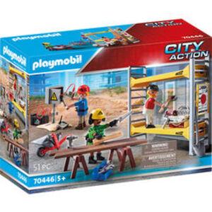 PLAYMOBIL® City Action 70446 Baugerüst mit Handwerkern