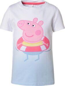 T-Shirt NMFPEPPAPIG , Organic Cotton blau Gr. 110 Mädchen Kleinkinder