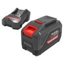 Bild 1 von Powerworks Dual Voltage Akku & Ladegerät Starter-Kit PSK2448B4X