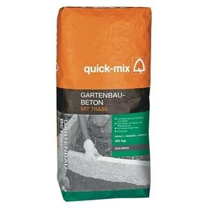 Quick-Mix Gartenbaubeton mit Trass