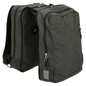 Gepäckträgertasche 2in1
