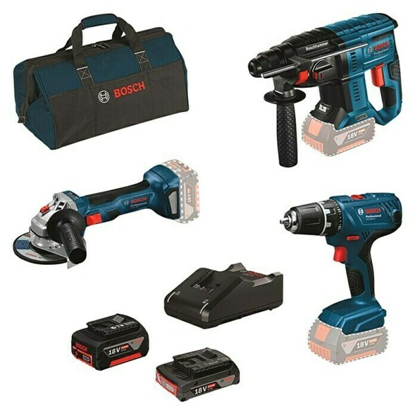 Bosch Professional Maschinen-Set 3 Tool Kit