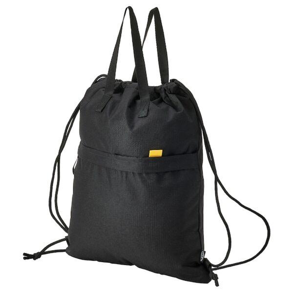 VÄRLDENS Sporttasche, schwarz