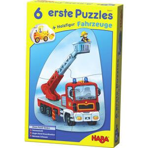 Haba Puzzle fahrzeuge  303311  Mehrfarbig