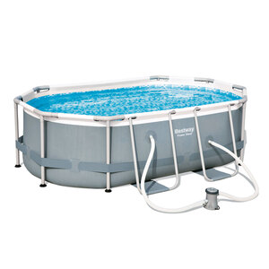 "Bestway              Pool-Set ""Power Steel"" 300x200x84 cm, oval"