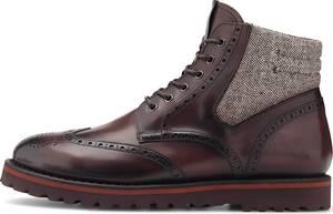 Franceschetti, Schnür-Boots Old England in dunkelbraun, Boots für Herren
