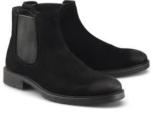 COX, Chelsea-Boots in schwarz, Boots für Herren