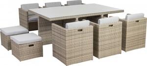 TrendLine Dining Lounge Möbelset Cessana Inkl. Auflagen