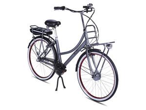 Llobe E-Bike »Rosendaal 2«, Damen, 28 Zoll, 80 - 130 km Reichweite, grau
