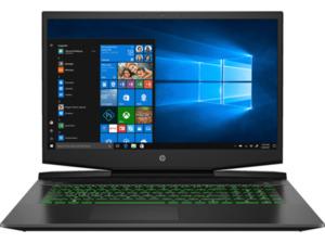 HP Pavilion 17-cd1375ng, Notebook mit 17,3 Zoll Display, Core™ i7 Prozessor, 16 GB RAM, 512 SSD, GeForce RTX 2060 Max-Q, Schwarz