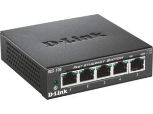 D-LINK DES-105/E Desktop Switch 5