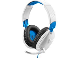 TURTLE BEACH Recon 70, Over-ear Gaming Headset Weiß/Blau