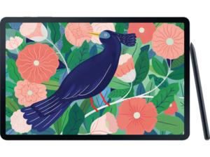SAMSUNG Galaxy Tab S7+ WiFi, Tablet, 256 GB, 12,4 Zoll, Mystic Black