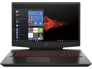HP OMEN by 17-cb1378ng, Gaming Notebook mit 17,3 Zoll Display, Core™ i7 Prozessor, 16 GB RAM, 512 SSD, GeForce RTX™ 2070, Schwarz