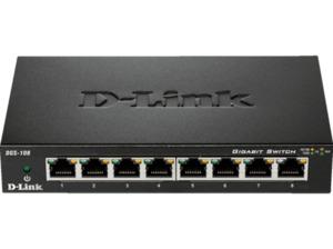 D-LINK DGS-108/E Desktop Switch 8
