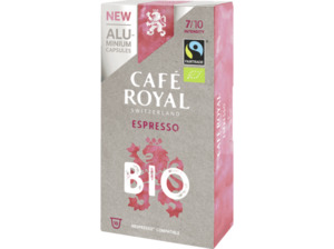 CAFE ROYAL Bio Espresso Alu Kaffeekapseln (Nespresso)