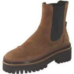 Elvio Zanon Chelsea Boots Damen beige