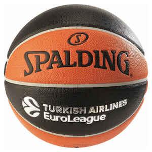 Basketball TF1000 Euroleague Spalding Größe 7 für Jungen und Erwachsene