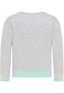 Sweatshirt Sweatshirts  grau/hellblau Gr. 128 Mädchen Kinder