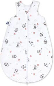 Schlafsack Jersey Pinguin Gr 62 weiß