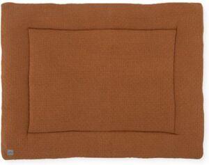 Krabbeldecke, 80 x 100 cm, Bliss knit caramel camel