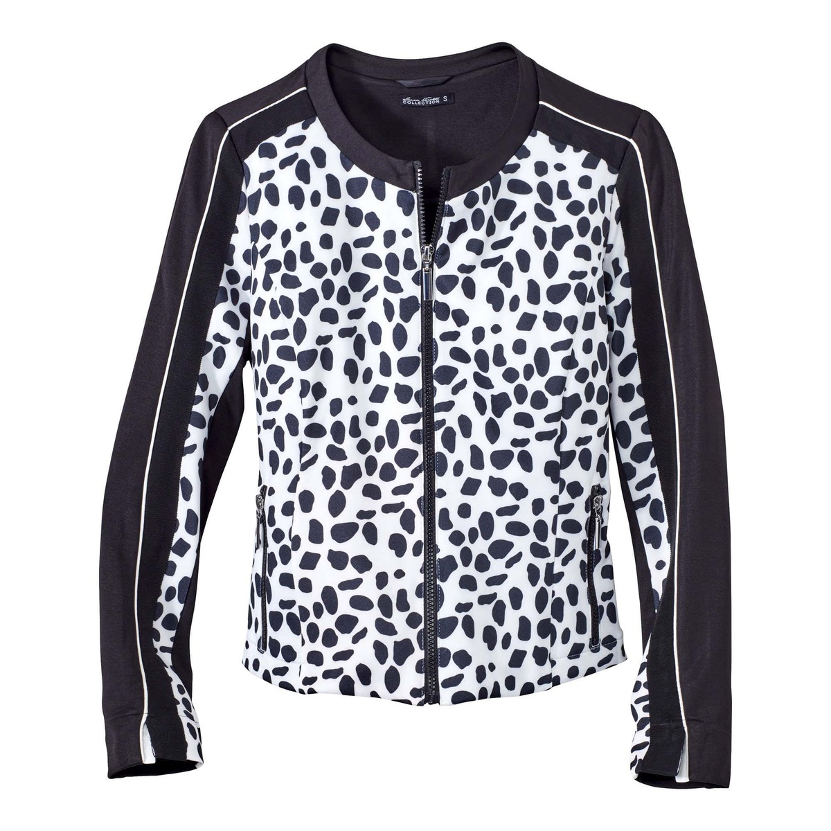 Bild 2 von Damen-Jacke in Schwarz-Weiß-Optik