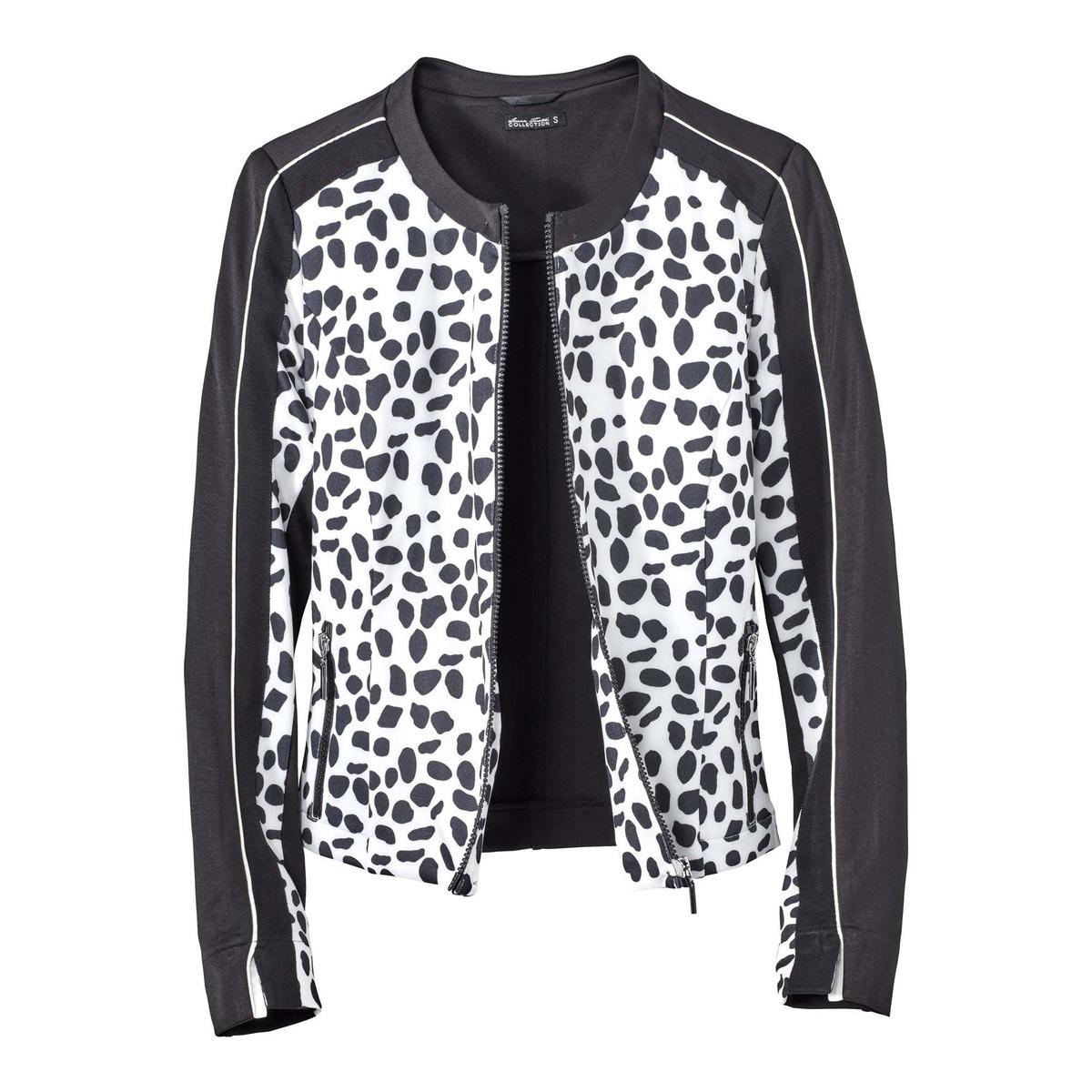 Bild 3 von Damen-Jacke in Schwarz-Weiß-Optik