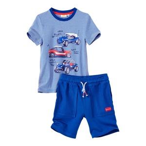 Kinder-Jungen-Set mit T-Shirt und Bermudas, 2er-Set