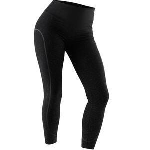 Leggings Slim Gym & Pilates Damen schwarz
