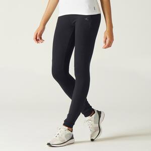 Jogginghose Fitness warm RV-Taschen Slim Damen schwarz