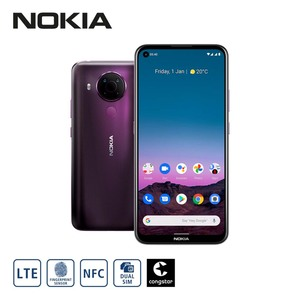 Smartphone 5.4 • 4-fach-Hauptkamera mit Ultraweitwinkel-, Tiefen- und Makrosensor (48 MP + 5 MP + 2 MP + 2 MP) • 16-MP-Frontkamera • 4-GB-RAM, bis zu 128 GB interner Speicher • microSD™-Slo