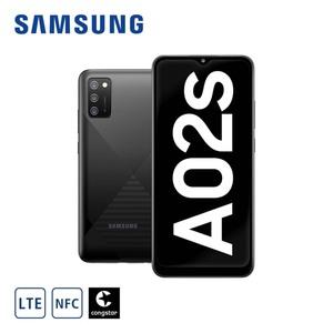 Smartphone Galaxy A02s A025G • 3-fach-Hauptkamera mit Weitwinkel-, Makro- und Bokeh-Objektiv (13 MP + 2 MP + 2 MP) • 5-MP-Frontkamera • 3-GB-RAM, bis zu 32 GB interner Speicher • microSD™-S