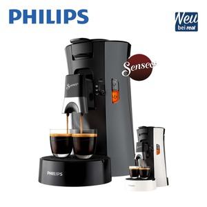 Padautomat Senseo® Select CSA230/XX • für 1 oder 2 Tassen/Becher • Kaffeestärkewahl Plus: normaler oder starker Kaffee oder Espresso • Crema Plus: für eine bessere, feinporige Crema • 52