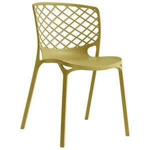 Livetastic Stuhl gelb  Gamera  Kunststoff