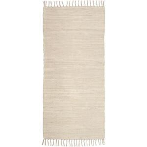 Boxxx Fleckerlteppich 80/150 cm beige  Maxi  Textil