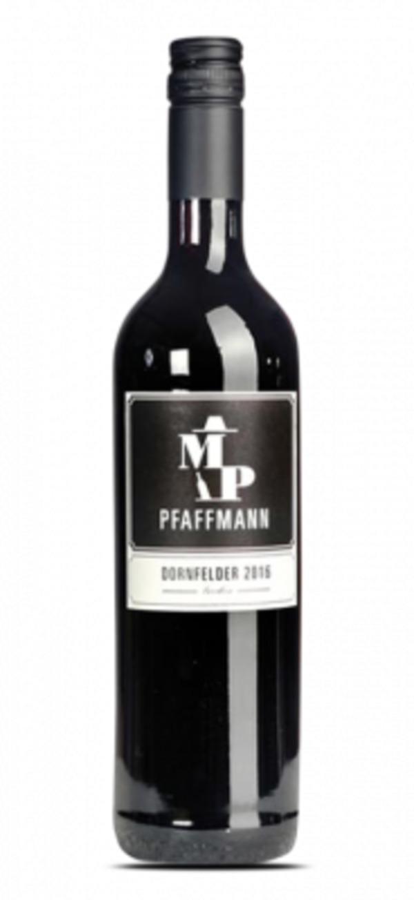 """Markus Pfaffmann Dornfelder Qualitätswein lieblich """"M.P."""" 2015 - 0.75 L - Rotwein - Deutschland - Markus Pfaffmann"""