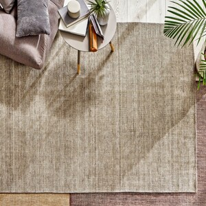 Matera  Uni-Teppich, Granite Grey