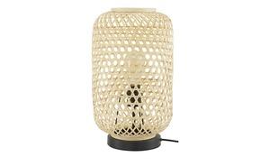 Tischleuchte, 1-flammig, Bambus natur
