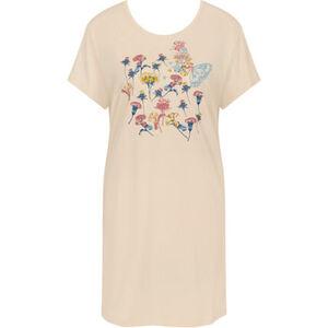 Triumph Lounge-Me Cotton Nachthemd, Print, 90 cm, für Damen