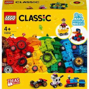 LEGO® Classic - 11014 Steinebox mit Rädern