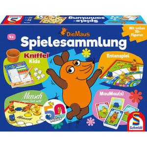 Schmidt Spiele Die Maus - Kinder-Brett-Spielesammlung