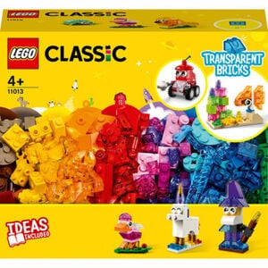 LEGO® Classic - 11013 Kreativ-Bauset mit durchsichtigen Steinen