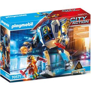 PLAYMOBIL® City Action - Polizei-Roboter: Spezialeinsatz 70571