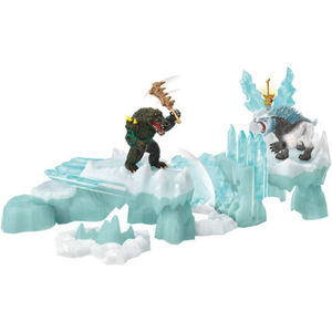 Schleich Angriff auf die Eisfestung 42497