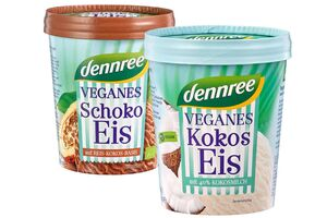 Veganes Eis, verschiedene Sorten