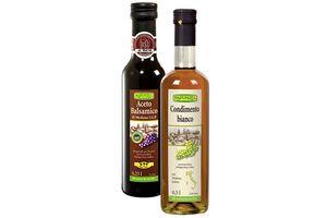 Balsamico-Essig, verschiedene Sorten