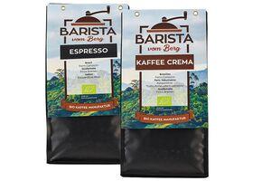 Kaffee oder Espresso, verschiedene Sorten