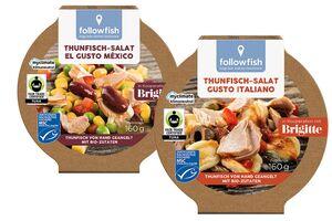 Thunfisch-Salat oder -Aufstrich, verschiedene Sorten