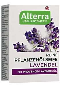 Alterra Reine Pflanzenölseife Lavendel